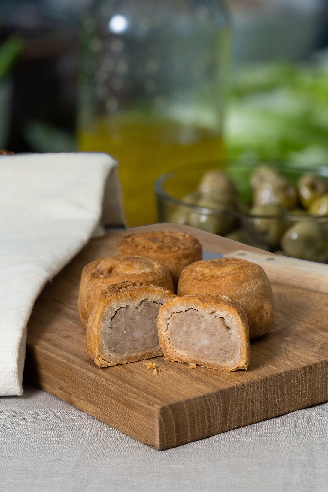 Original 6 pk mini pork pies - product
